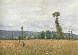 Alfred Sisley - The Hills of La Bouille