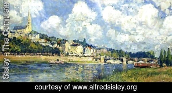 Alfred Sisley - The River at Saint Cloud