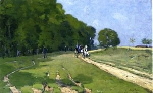 Alfred Sisley - Path near the Parc de Courances