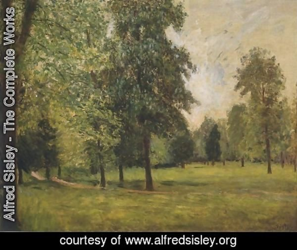 Alfred Sisley - The Park at Sevres