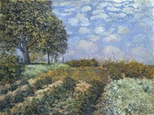 Alfred Sisley - The Fields