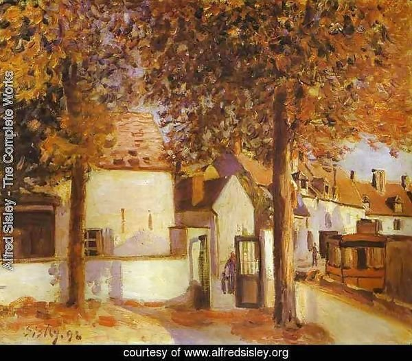 View In Moret Rue Des Fosses