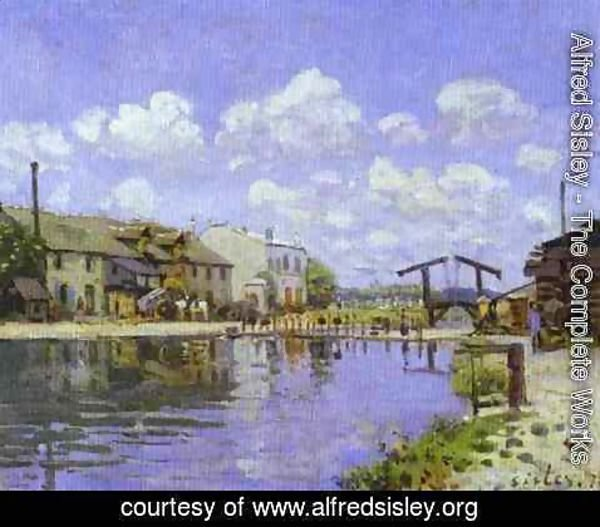 Alfred Sisley - The Saint Martin Canal
