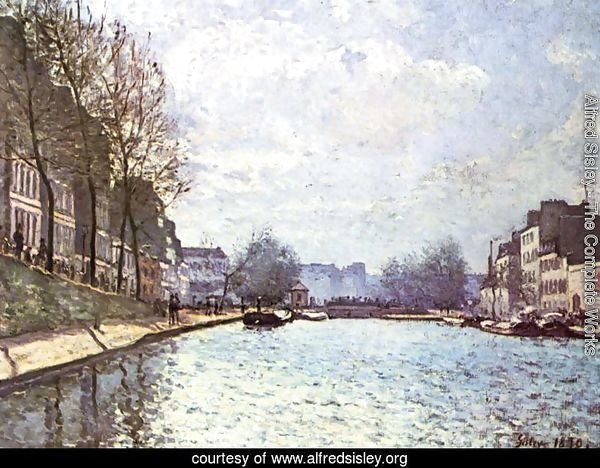 The St. Martin Canal 1870