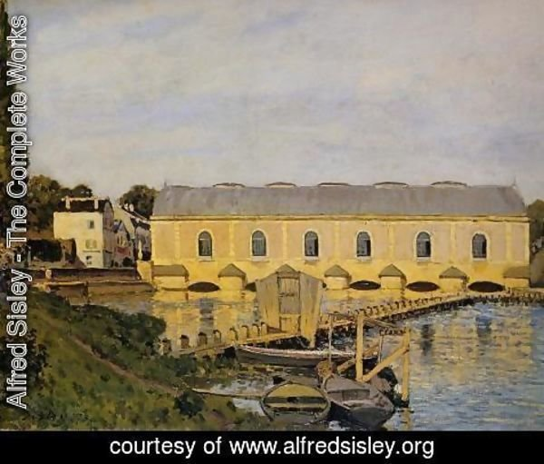 Alfred Sisley - The Machine At Marly