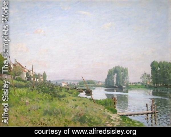 Alfred Sisley - The Island Of Saint Denis