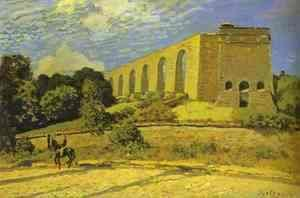 The Aqueduct At Marly