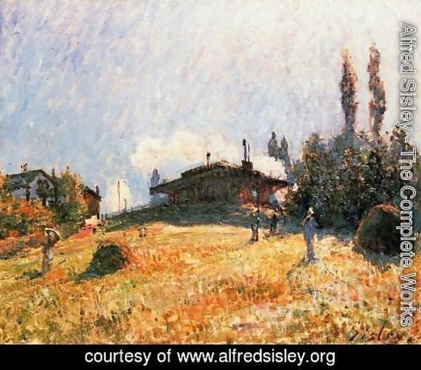 Alfred Sisley - Station At Sevres