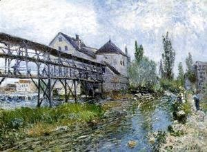 Provencher's Mill at Moret 1883