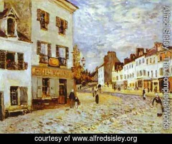 Alfred Sisley - Market Place At Marly