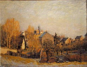 Alfred Sisley - Frost In Louveciennes