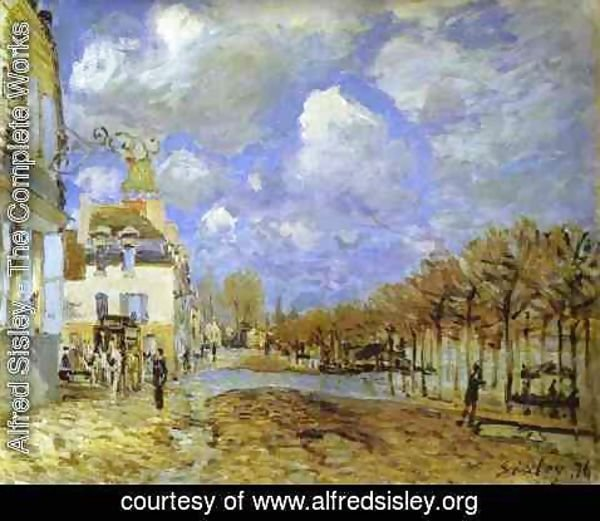 Alfred Sisley - Flood At Port Marly II