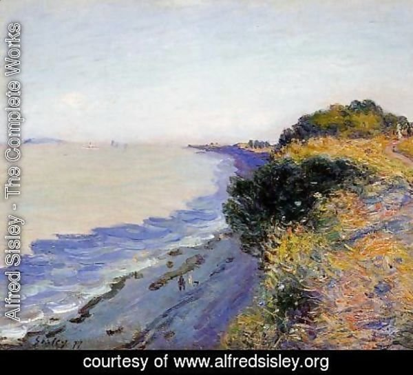 Alfred Sisley - Bristol Channel From Penarth Evening