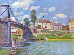 The Bridge at Villeneuve-la-Garenne 1872